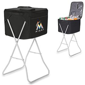 Picnic Time MLB Miami Marlins Party Cube
