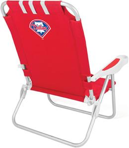 Picnic Time MLB Philadelphia Phillies Monaco Chair