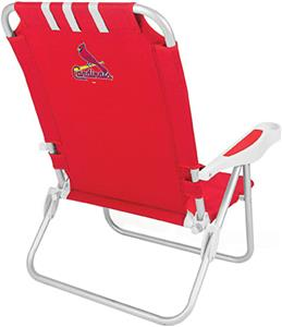 Picnic Time MLB St. Louis Cardinals Monaco Chair