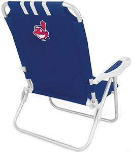 Picnic Time MLB Cleveland Indians Monaco Chair