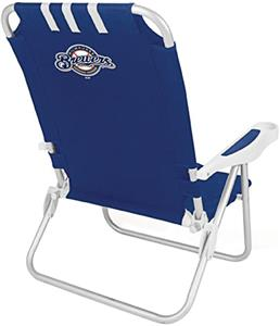 Picnic Time MLB Milwaukee Brewers Monaco Chair
