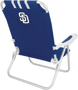 Picnic Time MLB San Diego Padres Monaco Chair