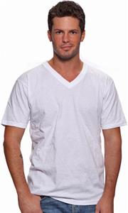 Royal Apparel Mens Short Sleeve V-Neck Tee