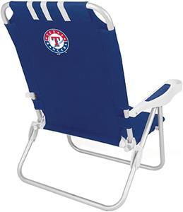 Picnic Time MLB Texas Rangers Monaco Chair