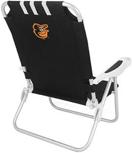 Picnic Time MLB Baltimore Orioles Monaco Chair