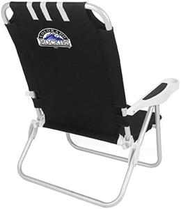 Picnic Time MLB Colorado Rockies Monaco Chair