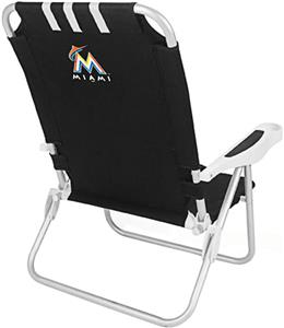 Picnic Time MLB Miami Marlins Monaco Chair