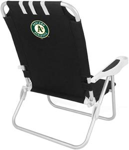 Picnic Time MLB Oakland Athletics Monaco Chair