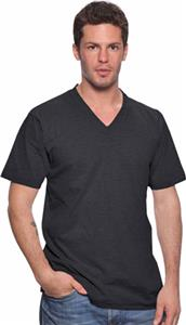 Royal Apparel Mens Fine Jersey V-Neck Tee