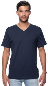 Royal Apparel Mens Organic Short Sleeve V-Neck Tee