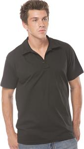 Royal Apparel Mens 3 Button Organic Polo Shirt