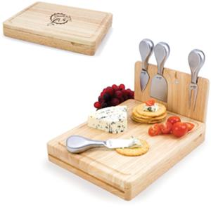 Picnic Time NFL Miami Dolphins Asiago Board
