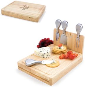 Picnic Time NFL Minnesota Vikings Asiago Board