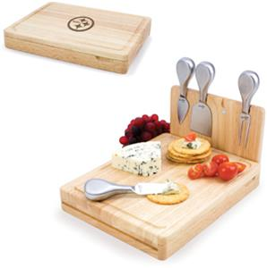 Picnic Time NFL Pittsburgh Steelers Asiago Board