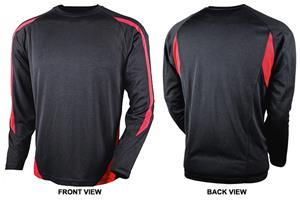 Tonix Men's LS Leadoff Sports Shirts
