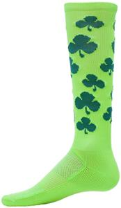 Red Lion Zany Lucky Shamrock Performance Socks