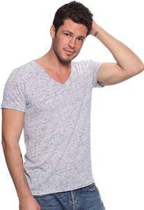Royal Apparel Mens Triblend Deep V-Neck Tee