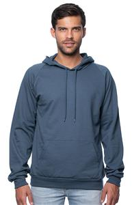 Royal Apparel Mens Organic Fleece Pullover Hoodie