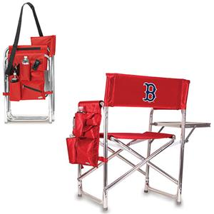 Picnic Time MLB Boston Red Sox Folding Sport Chair
