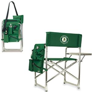 Picnic Time MLB Oakland Athletics Sport Chair