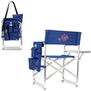 Picnic Time MLB Atlanta Braves Folding Sport Chair