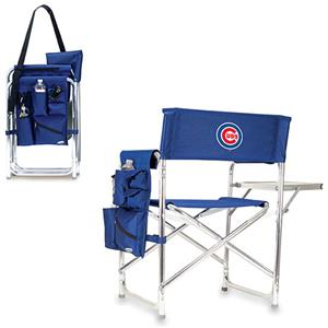 Picnic Time MLB Chicago Cubs Folding Sport Chair