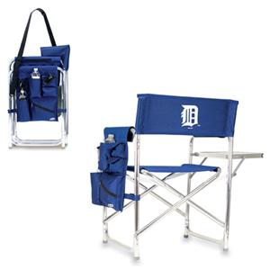 Picnic Time MLB Detroit Tigers Folding Sport Chair