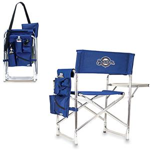 Picnic Time MLB Milwaukee Brewers Sport Chair