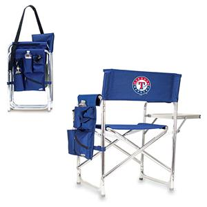 Picnic Time MLB Texas Rangers Folding Sport Chair
