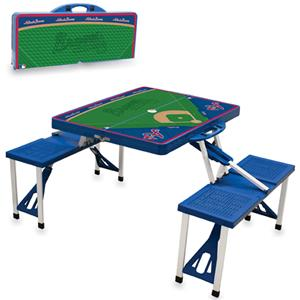 Picnic Time MLB Atlanta Braves Picnic Table