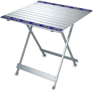 Picnic Time NFL Baltimore Ravens Travel Table