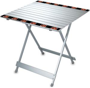 Picnic Time NFL Cincinnati Bengals Travel Table