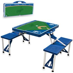 Picnic Time MLB Los Angeles Dodgers Picnic Table