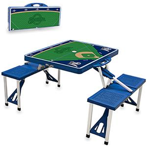 Picnic Time MLB Milwaukee Brewers Picnic Table