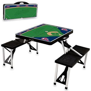 Picnic Time MLB Cleveland Indians Picnic Table