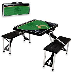 Picnic Time MLB Colorado Rockies Picnic Table