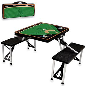 Picnic Time MLB Miami Marlins Picnic Table