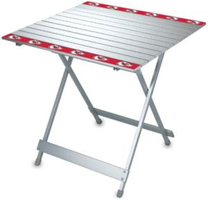 Picnic Time NFL Kansas City Chiefs Travel Table