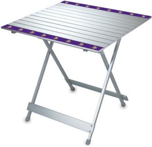 Picnic Time NFL Minnesota Vikings Travel Table