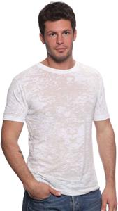 Royal Apparel Mens Sheer Burn Out Tee