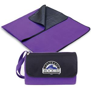 Picnic Time MLB Colorado Rockies Outdoor Blanket