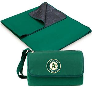 Picnic Time MLB Oakland Athletics Outdoor Blanket