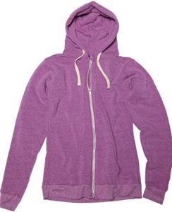 Royal Apparel Unisex Ring SpunTriblend Zip Hoodie