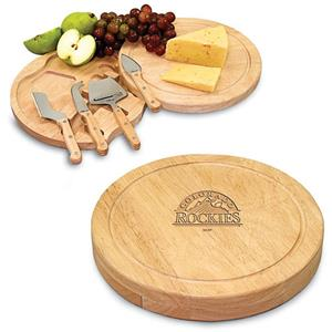 Picnic Time MLB Colorado Rockies Cutting Board