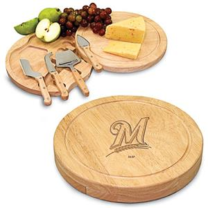 Picnic Time MLB Milwaukee Brewers Cutting Board