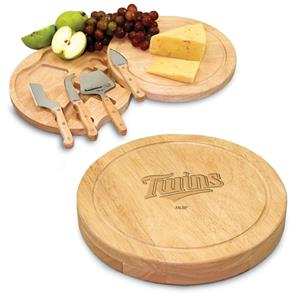 Picnic Time MLB Minnesota Twins Cutting Board