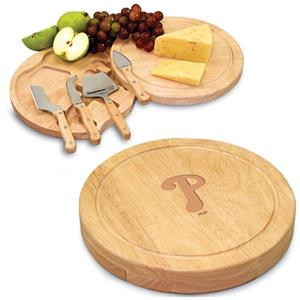 Picnic Time MLB Phillies Circo Cutting Board