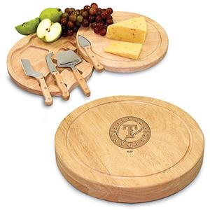 Picnic Time MLB Texas Rangers Circo Cutting Board