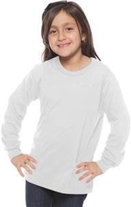 Royal Apparel Youth Unisex Organic Long Sleeve Tee