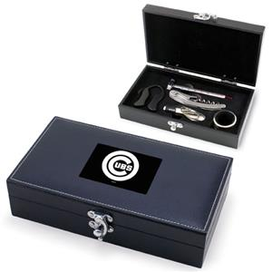 Picnic Time MLB Chicago Cubs Syrah Wine Box Set
